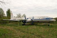 Ил-18Б компании Аэрофлот. Такой самолёт разбился в Ростовской области в 1961 году.