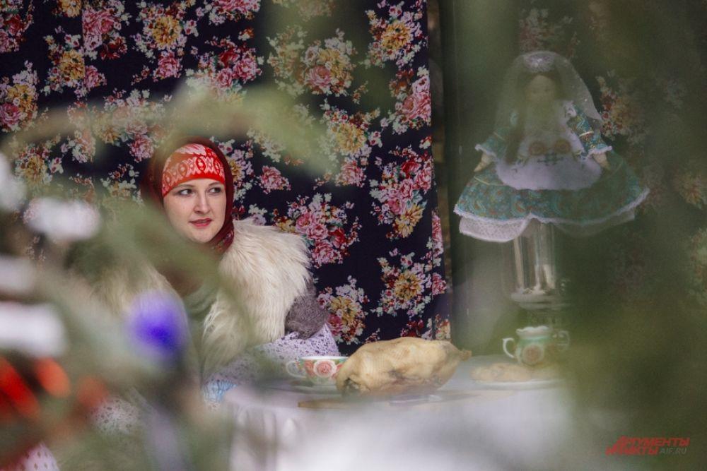 Как только устанавливалась зима, в татарских селах готовились отметить праздник гусиного пера.