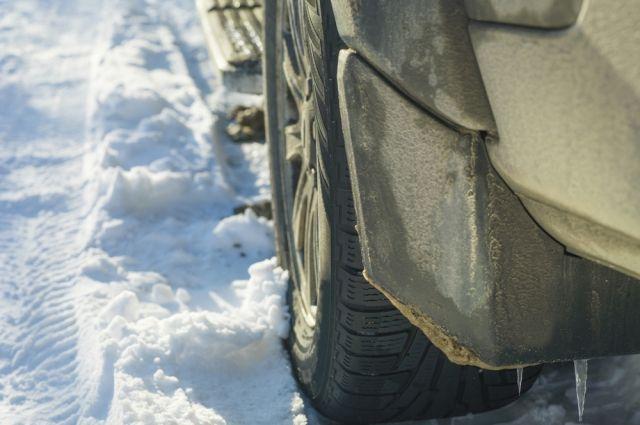 Почему нельзя использовать брызговики зимой?