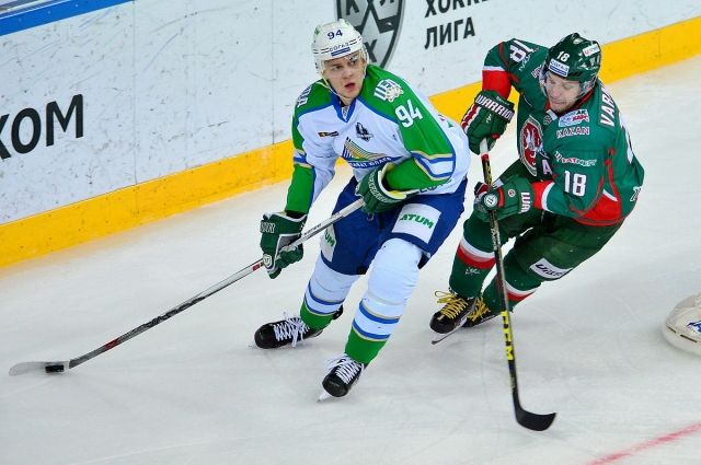 Зарипов забил 1-ый гол в«зелёном дерби» после возвращения в«АкБарс»