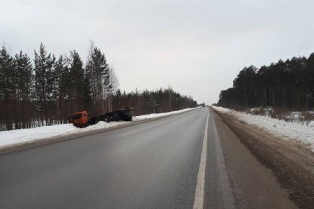 ВЮгре вдорожной трагедии умер водитель