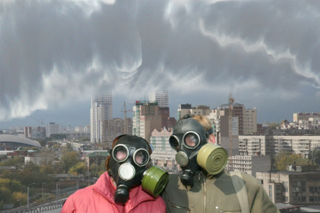 ВКрасноярске зазагрязнение воздуха закрыли автомастерскую