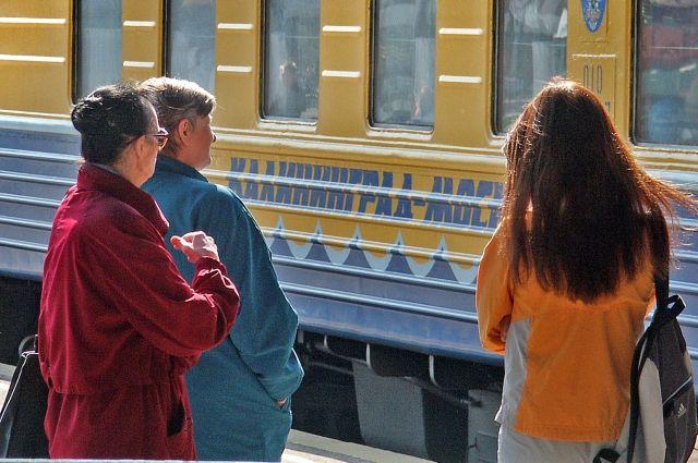 Сокращается время в пути для поезда по маршруту «Калининград-Москва».