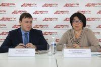 Антон Кошкарев и Надежда Астраханцева.