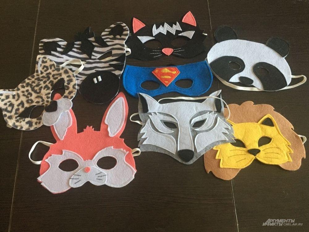 Вот такую коллекцию наш мастер имеет в запасе. Там и маска Супермена! И раз уж мы заговорили о супергероях...