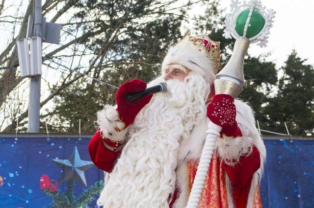 Дедушка Мороз изВеликого Устюга откроет главную елку Тулы