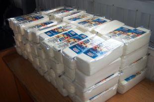 Более 200 кг попавших под санкции сыров уничтожили в Нижнем Новгороде.