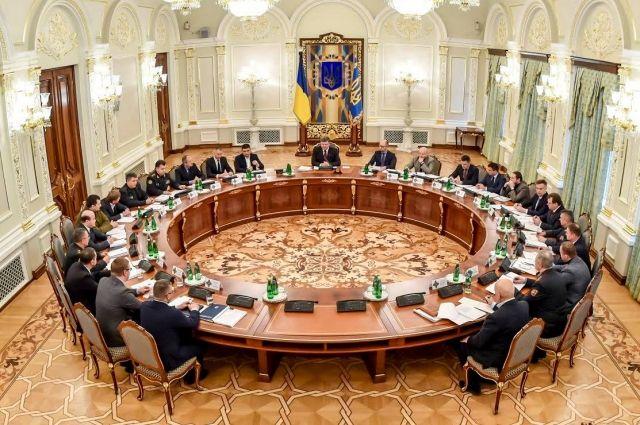 СНБО: В Украине усилят защиту гостайны и реформируют разведку