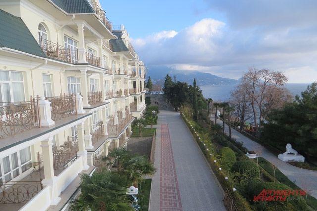 VIP отель Palmira Palace.