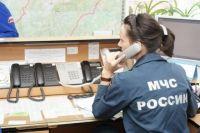 В Прокопьевске загорелась частная шиномонтажная мастерская.