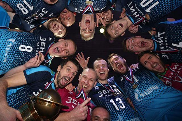 Казанцы выиграли в этом году все трофеи, которые только можно.