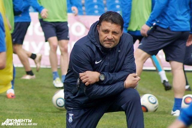 Тренер «Балтики» Игорь Черевченко развеял слухи опереходе вФК «Ростов»