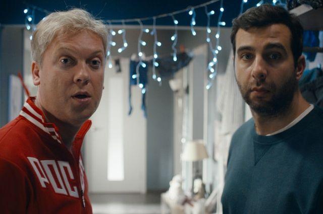 Главные роли в комедии сыграли Иван Ургант и Сергей Светлаков.