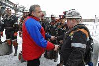 В. Пучков: «Одно из приоритетных направлений для МЧС России - обеспечение безопасности шахтёров».