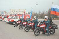 Новую технику получили пожарные Мордовии.