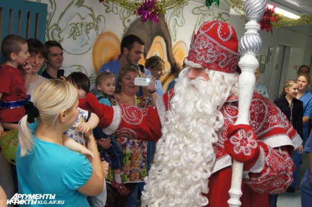 В Калининград приедет Дед Мороз из Великого Устюга.