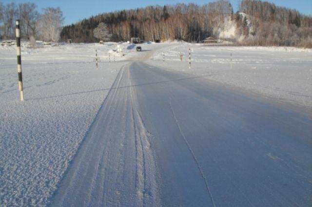 Открытию зимника «Лабытнанги – Мужи – Азовы – Теги» мешает оттепель и снег