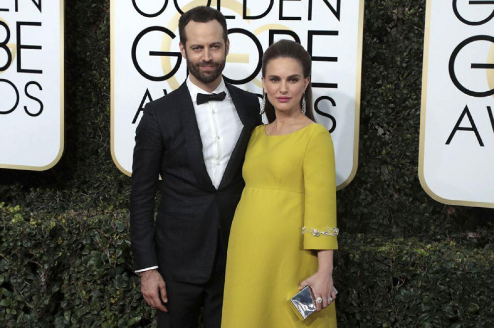 22 февраля оскароносная актриса Натали Портман и ее муж, 39-летний французский хореограф Бенжамен Мильпье, стали родителями во второй раз.