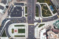 Транспортная развязка на площади Тверская Застава заработала в этом году.