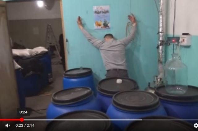 ВУсольском районе выявлен подпольный цех попроизводству алкоголя