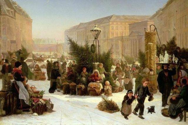 При Петре Новый год начали отмечать зимой.