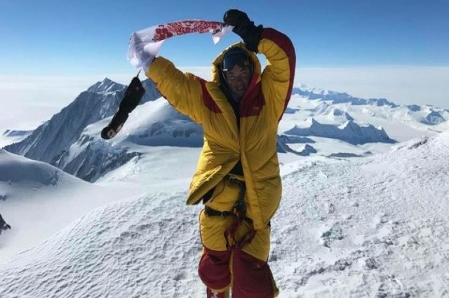 Национальный рекорд: украинская альпинистка покорила семь мировых вершин
