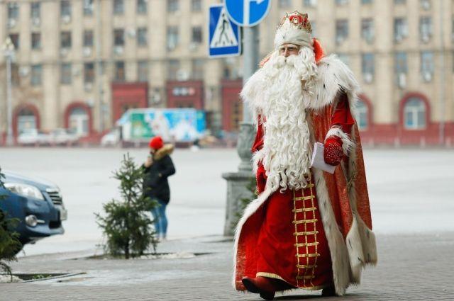 Дед Мороз посетит Калининград 21-22 декабря.
