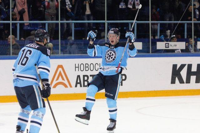 Еще одна победа: «Сибирь» выиграла у«Югры» срезультатом 6:1