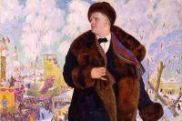 Борис Кустодиев Портрет Ф. И. Шаляпина. 1922 г.