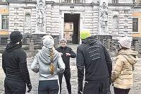 Андрей Ефимов изобрёл новый вид экскурсий - во время пробежек.