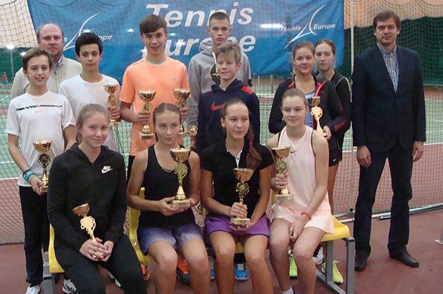 Воспитанники башкирского тенниса