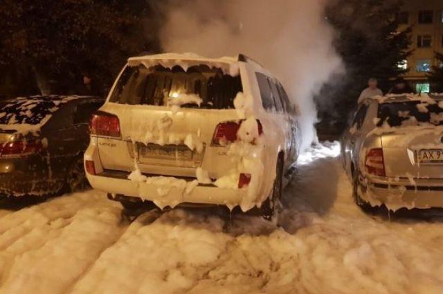 ВХарькове неизвестные спалили авто судьи, ведущей дело Зайцевой