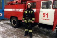 Старший сержант внутренней службы Дмитрий Рыбакин.