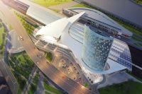Будущий вокзал ВСМ в Казани
