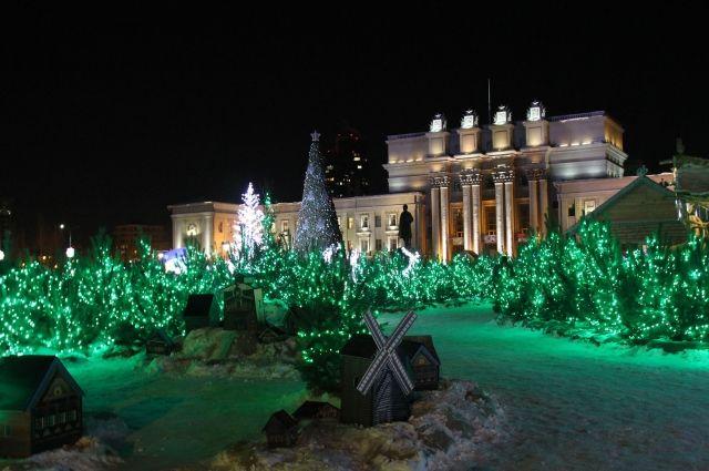 Усадьба Деда Мороза наплощади Куйбышева вСамаре откроется 26декабря