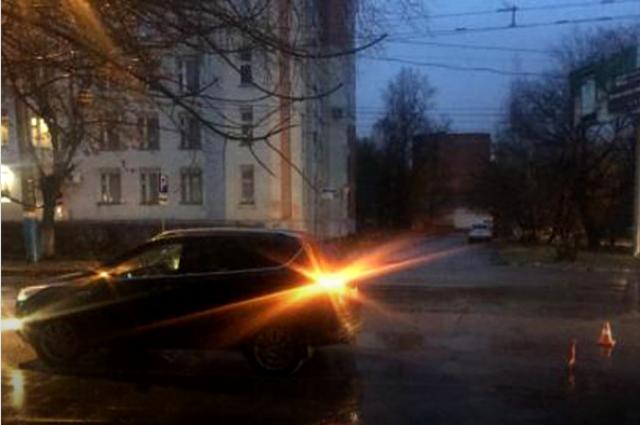 Наулице Марченко шофёр сбил ребенка и убежал сместа происшествия