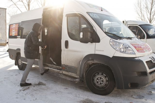 ВОмской области насчитали 1800 незаконных маршруток