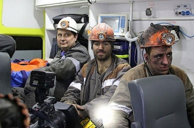 Спасательная операция на шахте «Есаульская» успешно завершилась.
