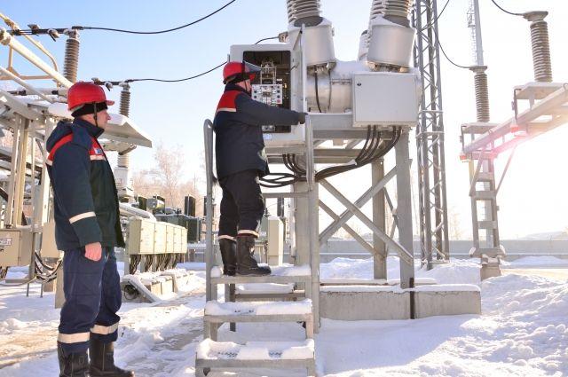Омские энергетики всегда на трудовой вахте.