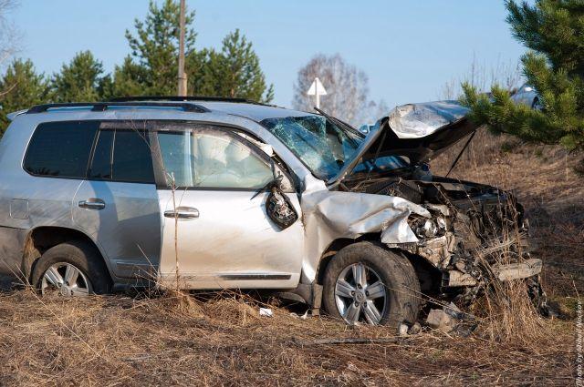 Авария с участием экс-главы ГИБДД Кузбасса произошла 23 апреля 2016 года.