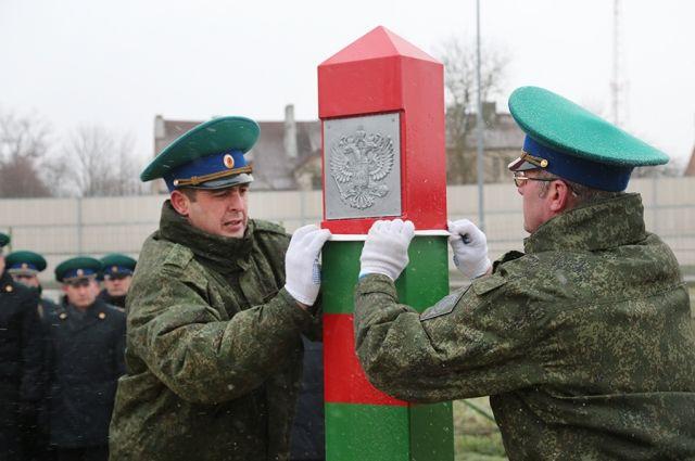 Литва завершила строительство забора на границе с Калининградской областью.