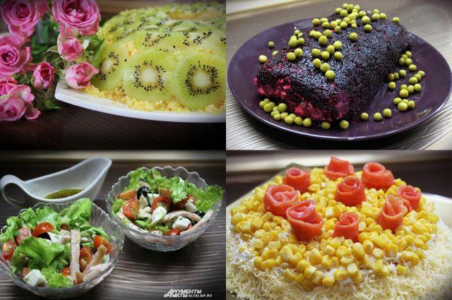 У праздничных блюд и оформление должно быть праздничное.
