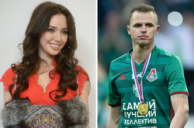 Анастасия Костенко и Дмитрий Тарасов.