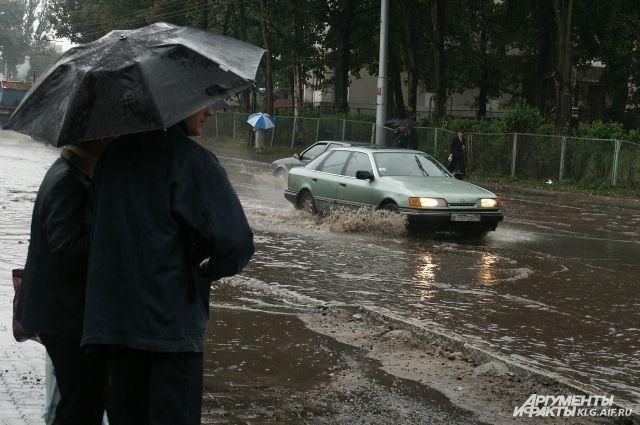Разрушительный шторм прошелся поКалининградской области