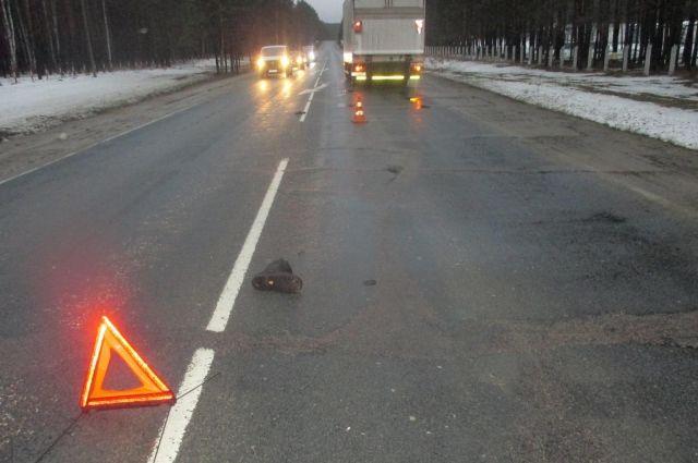 ДТП произошло на перекрестке в Дзержинском районе.