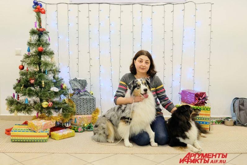 Традиционно в рамках мероприятия состоялась акция «Собака-обнимака».