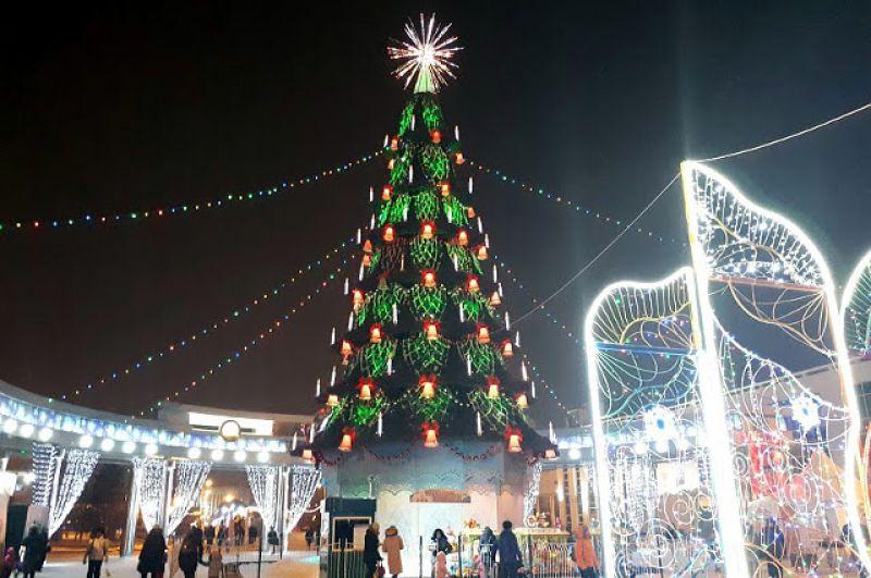 Главная елка Тюмени