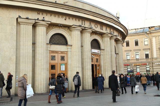 «Площадь Восстания-2» ивыход наМосковский вокзал закрыли напроверку