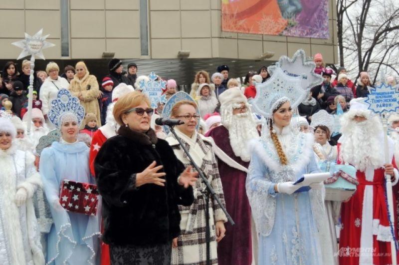 Присутствующих приветствовала председатель городской Думы Краснодара Вера Галушко.