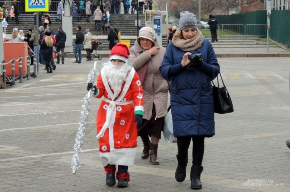 Дед Мороз в детстве.